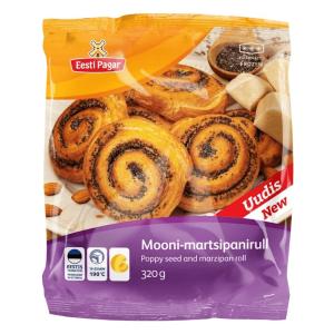 Mini marcipāna maizīte ar magoņu sēklām IZCEP PATS, 320g