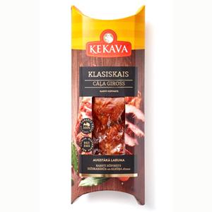 Cāļa gaļas giross Klasiskais ĶEKAVA, karsti kūpināts, 200g