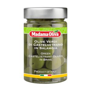 Zaļās olīvas Castelvetrano MADAMA OLIVA, 300g
