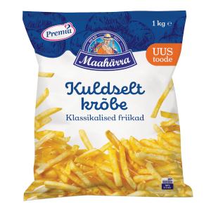 Kartupeļi - frī PREMIA TALLINNA KÜLMHOONE klasiskie, taisni, 1kg