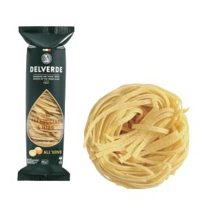 Pasta DELVERDE nūdeles ligzdas Fettuccine Olu, 250g