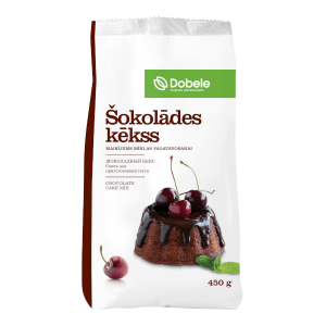 Šokolādes kēkss Dobele maisījums mīklas pagatavošanai, 450g