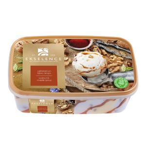 EKSELENCE Valriekstu saldējums ar kļavas sīrupu, 1L/480g
