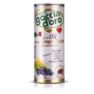 Vīnogu kauliņu eļļa GOCCIA D'ORO, 1L